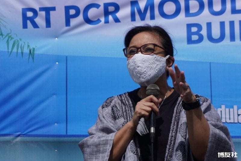 """The Philippine Star on Twitter: """"Vice President Leni Robredo led the  groundbreaking of the Naga City RT-PCR Molecular Laboratory earlier. The  OVP allocated P5 million to help in the establishment of the"""